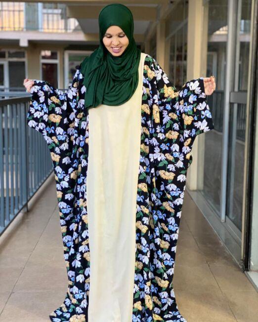 Hanifa floral dress (1)