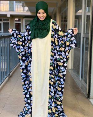 Hanifa floral dress