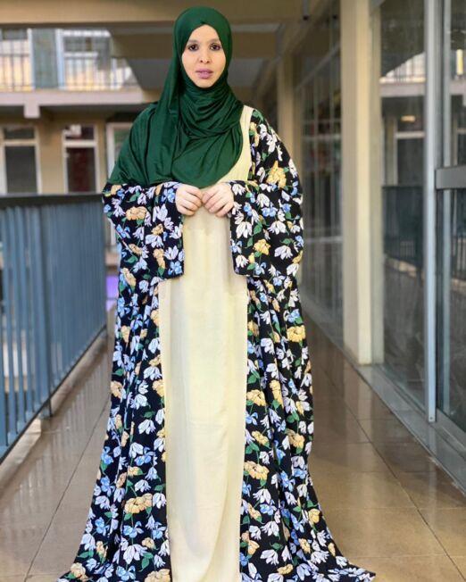 Hanifa floral dress (2)