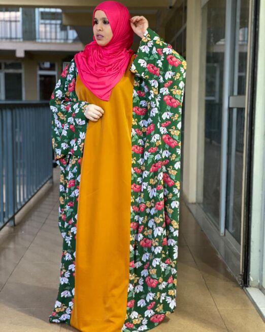 Hanifa floral pink dress (1)