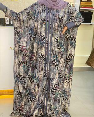 Grey qabow dress
