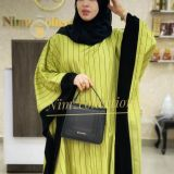 Lime Poncho and inner