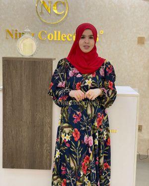 Samira Dress Navy